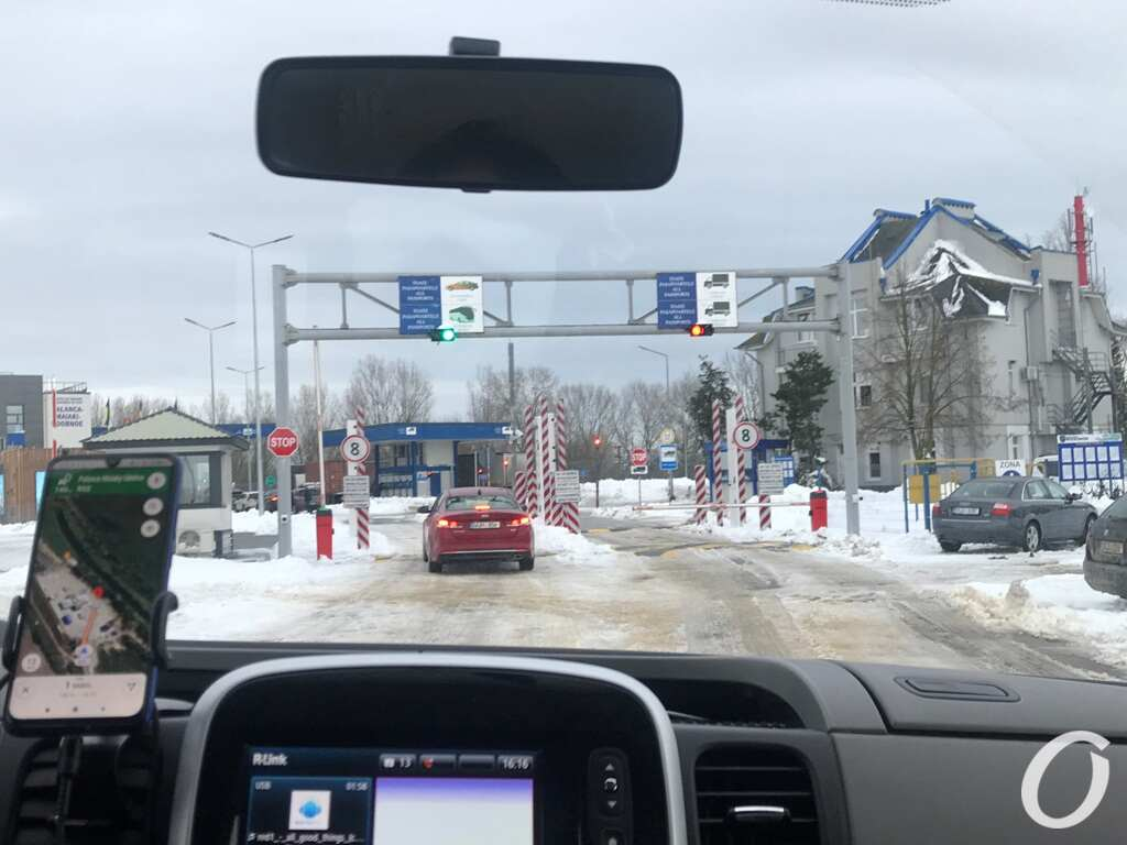 на границе Молдовы