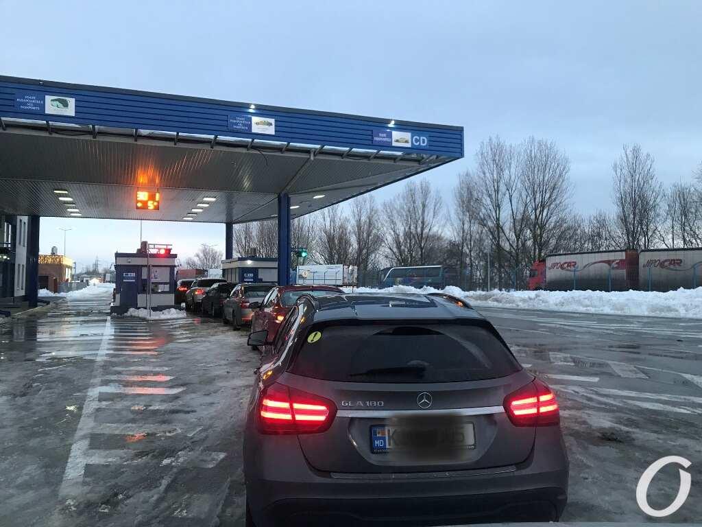 Молдова, граница