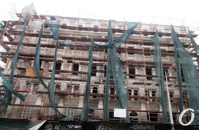 Ремонт одесского дома Либмана хотят «подкорректировать» (фото)