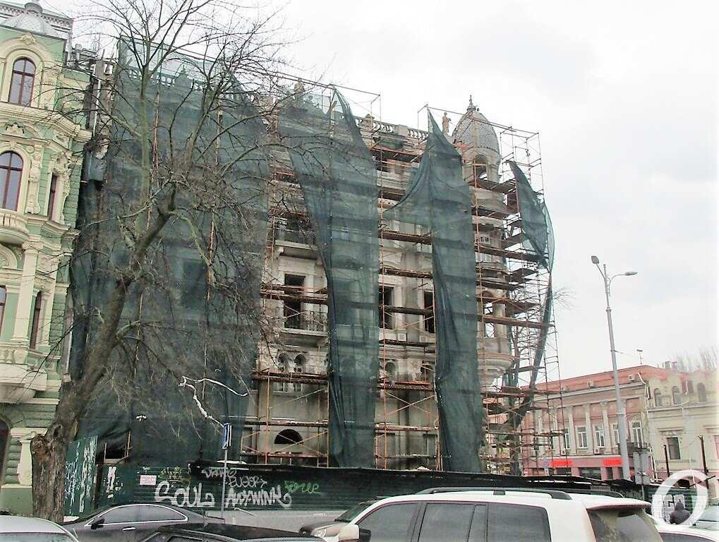 Дом Либмана, ремонт
