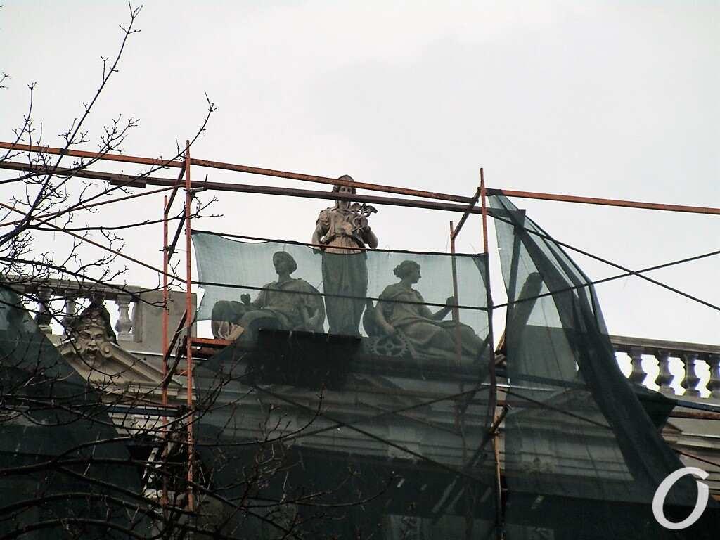 Дом Либмана, крыша