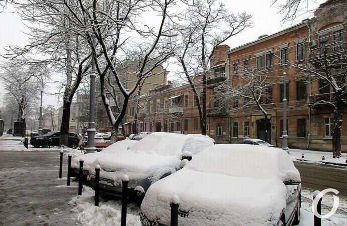 Третий снег и пьяный счастливчик: главные новости Одессы 6 февраля