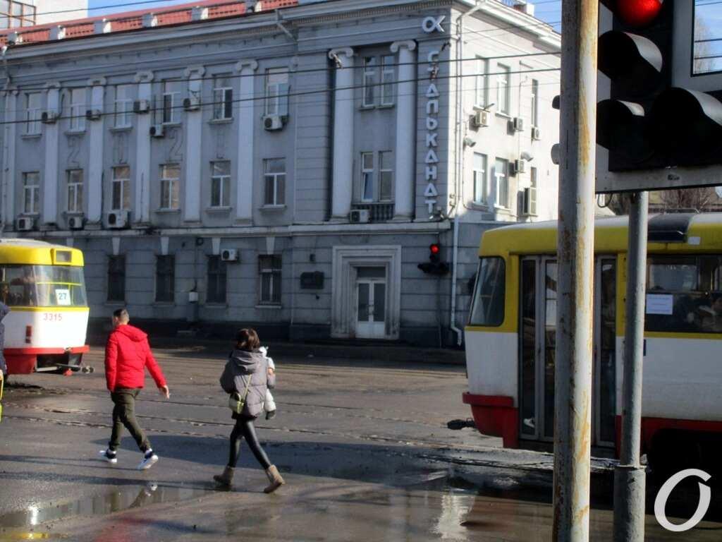 улица Водопроводная, рельсы