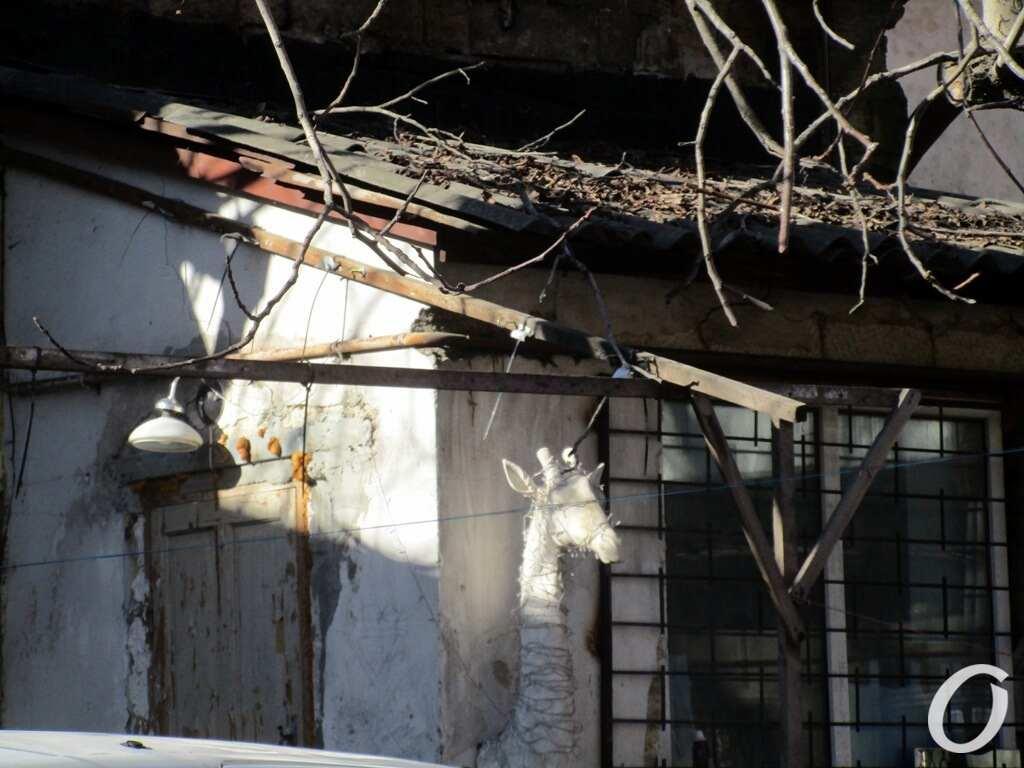 переулок Некрасова, дворик