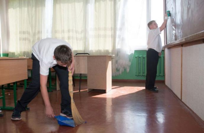 Школьных дежурств в Одессе больше не будет