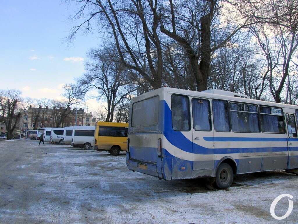 Старосенной сквер, автобусы