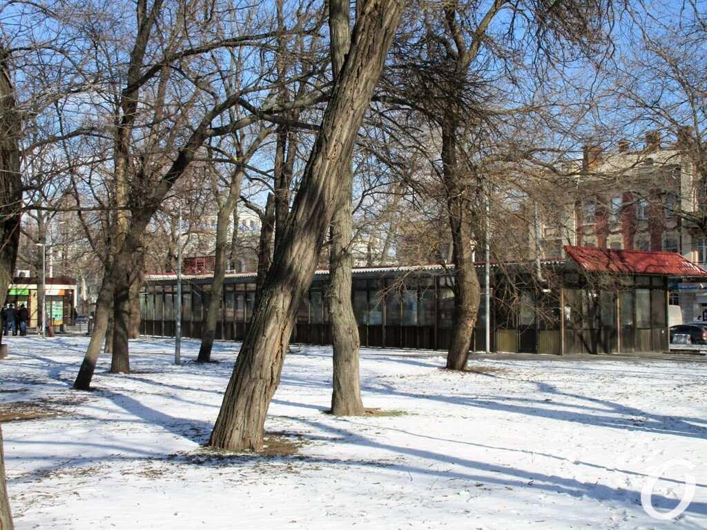 Старосенной сквер, Одесса