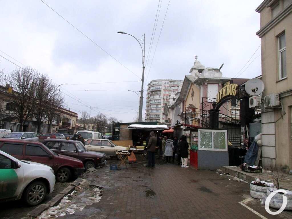 Бурлящий квартал, торговля