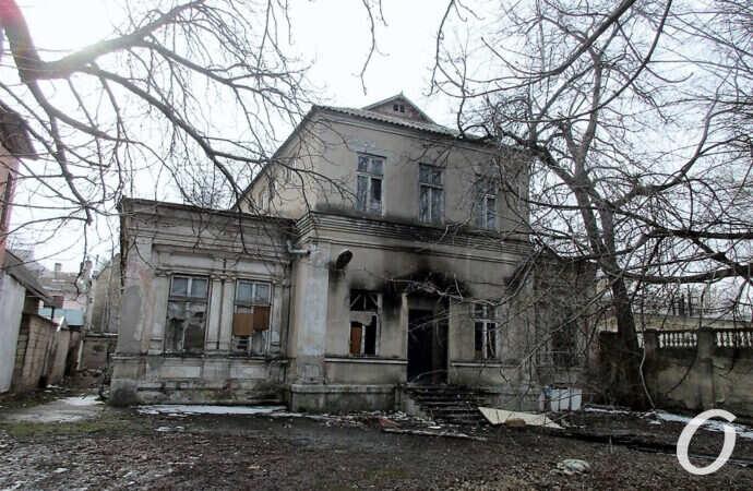 Спешите видеть: в Одессе погибает старинная усадьба семьи Тауэр (фото, видео)