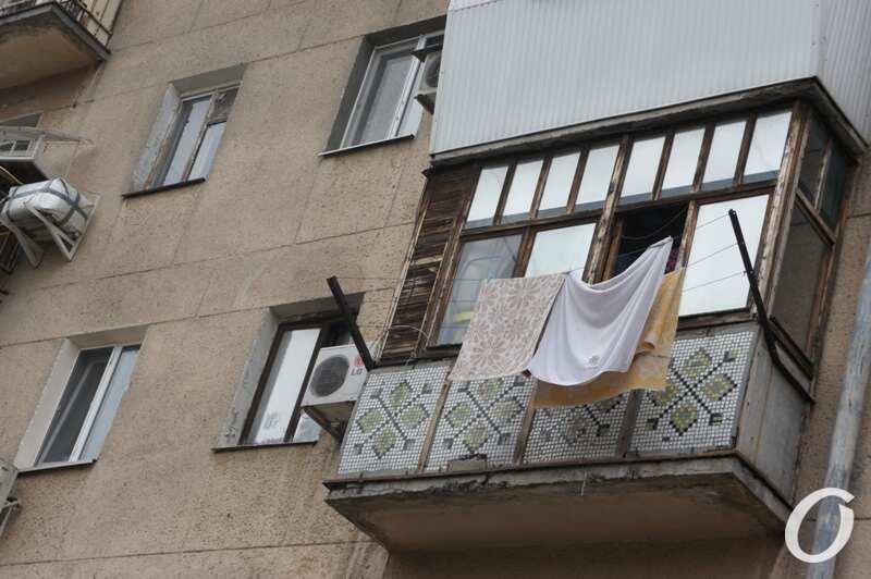 Варненская, балкон