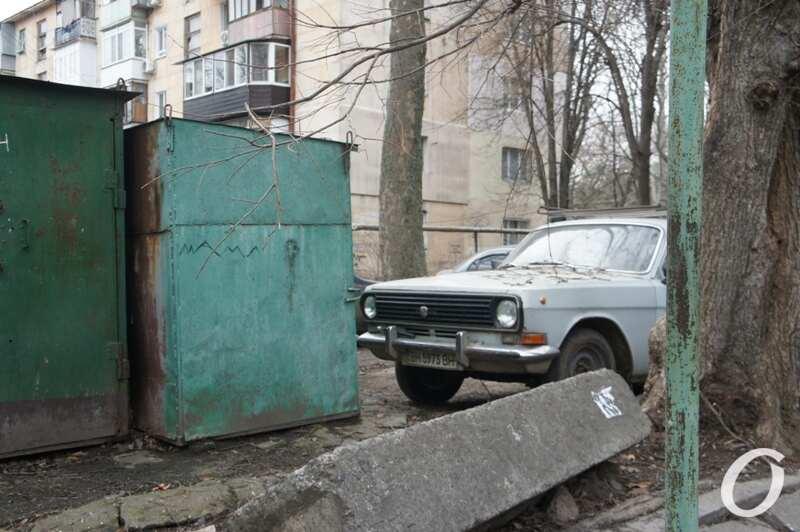 Варненская, гараж, авто