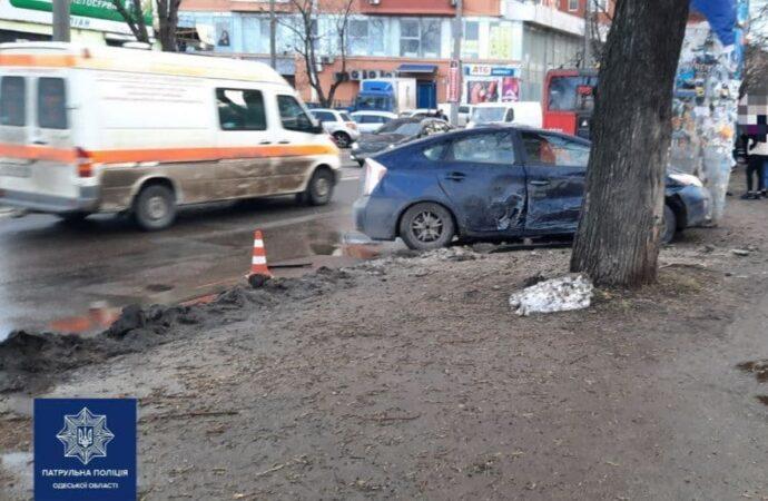 В Одессе на Молдаванке пьяный водитель сбил детей (фото)