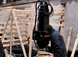 «Инфоксводоканал» установил европейские насосы на Главной канализационной насосной станции