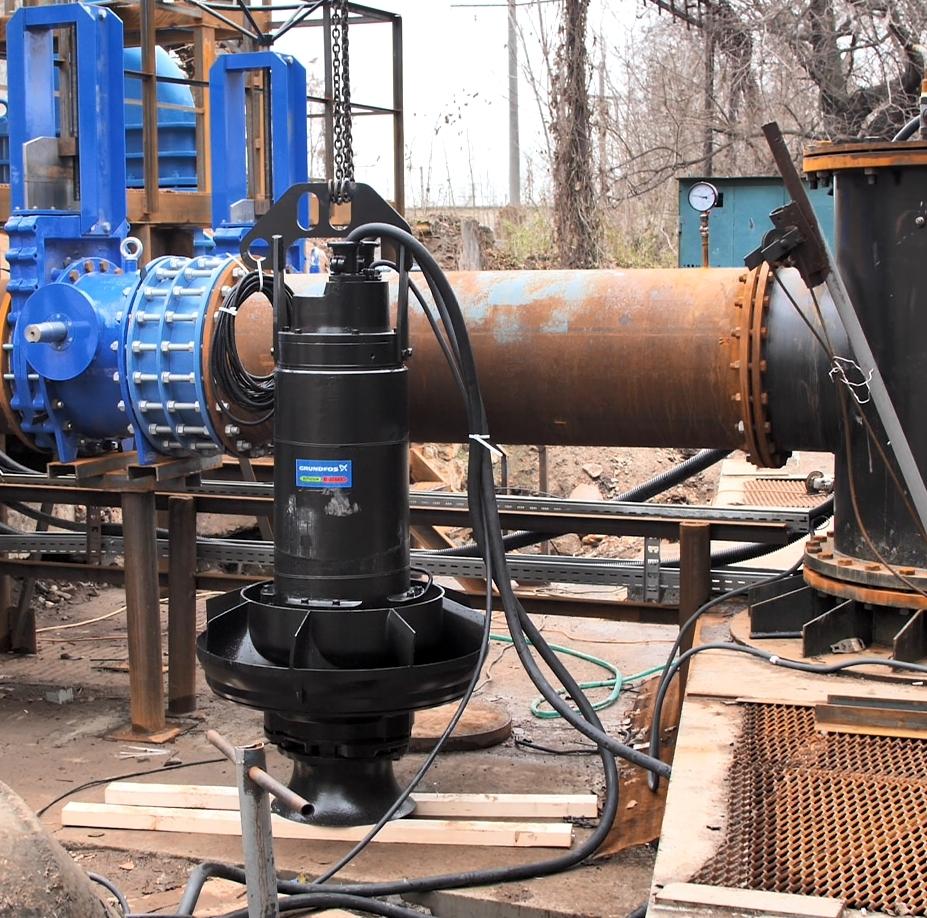 Главная канализационная насосная станция в Одессе