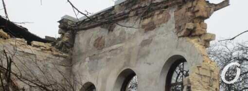 Обрушение «Полярной звезды» в Одессе: на Старопортофранковской перенесли трамвайную остановку