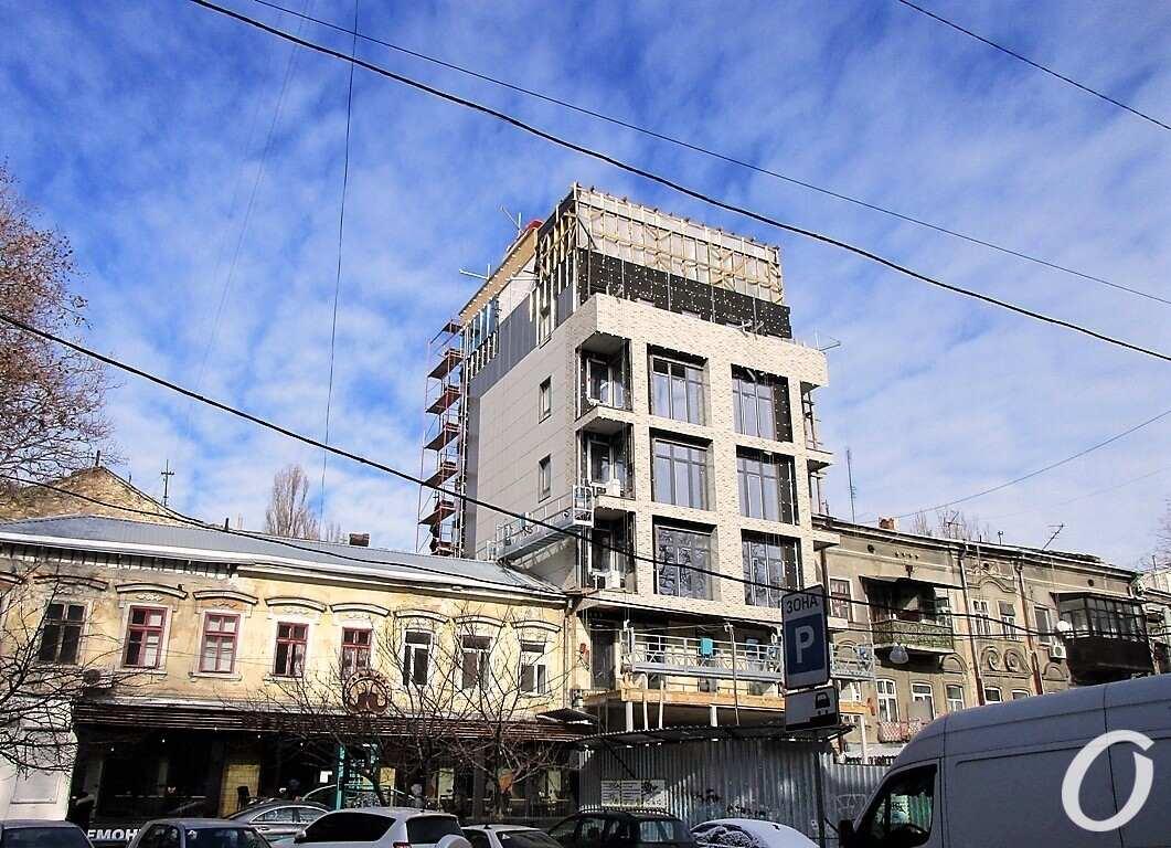 Ришельевская, 41, башня