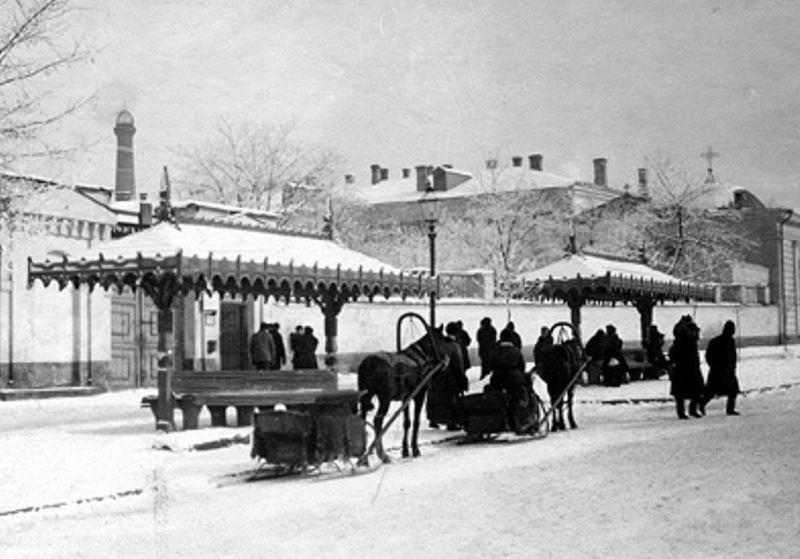 снег в старой Одессе