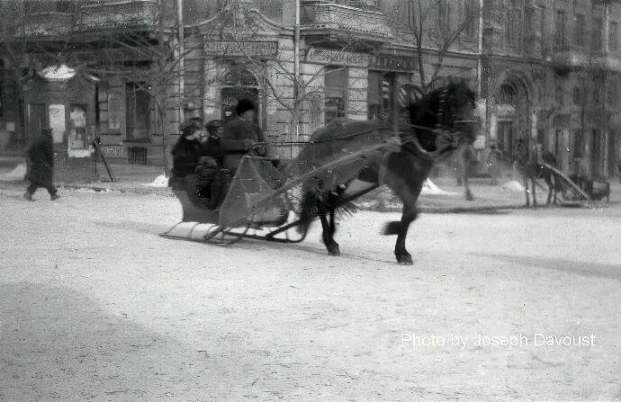 Как чистили от снега старую Одессу: обнародован уникальный документ (фото)
