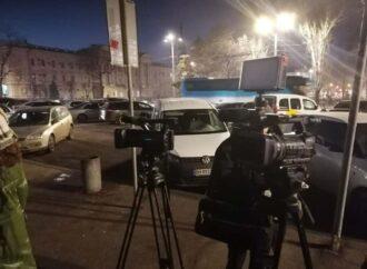 Одесские таксисты проигнорировали «тарифную» акцию протеста