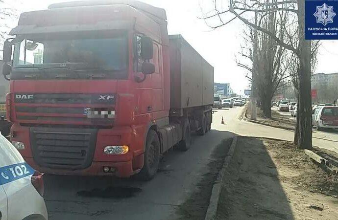 Два ДТП на Котовского в Одессе: наезд на старушку и Toyota-перевертыш (фото)