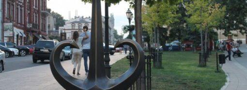 Копия одесского «Якоря-сердца» отправится в итальянский город-побратим