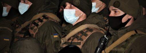 Одесские нацгвардейцы вернулись домой после 3-месячной ротации в зоне ООС