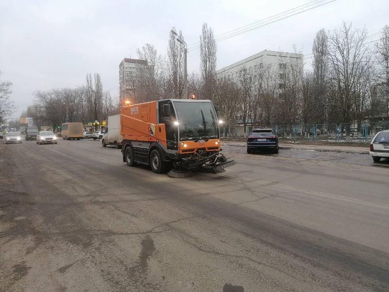 в Одессе чистят дороги3