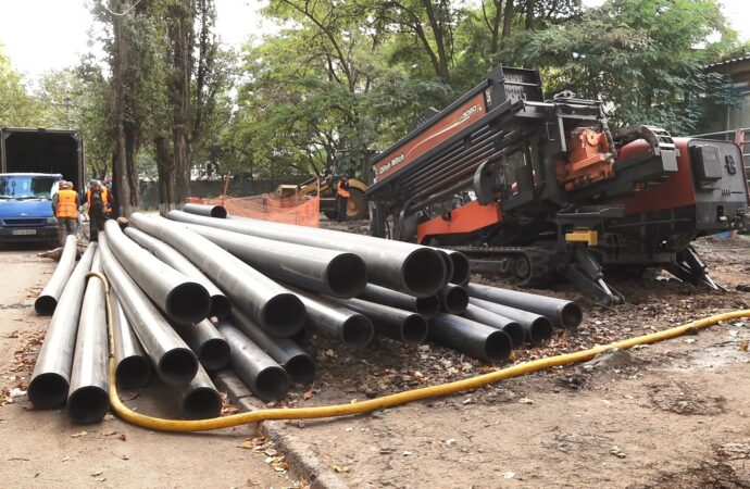 «Инфоксводоканал» в 2020 году заменил более 16километров изношенных трубопроводов