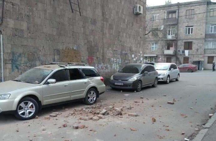 В Армении произошло сильное землетрясение
