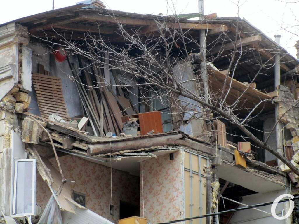Дом на Нежинской, после обвала