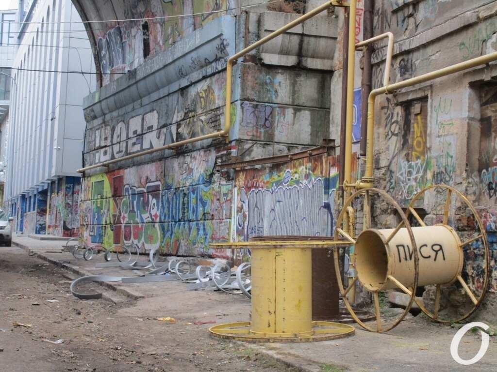 признаки ремонта на Деволановском спуске