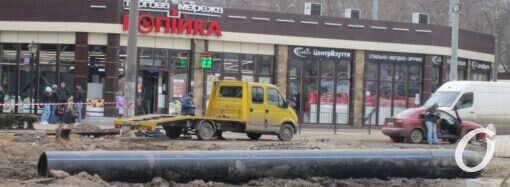 В Одессе полным ходом реконструируют Новощепной ряд: что изменилось? (фото)