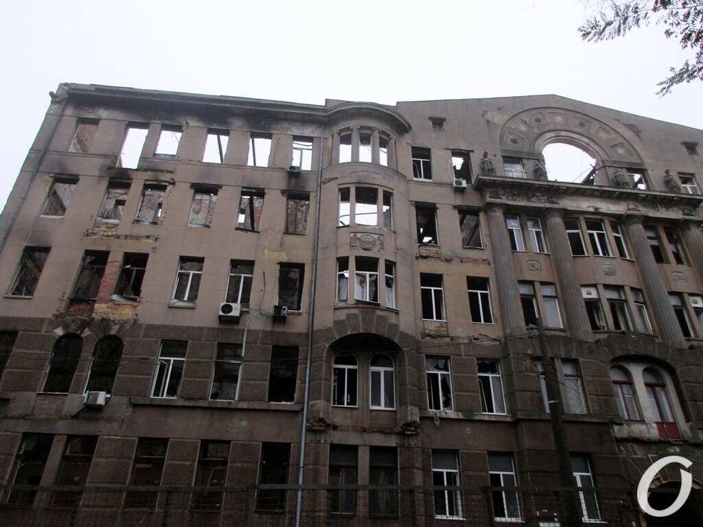 обгоревший дом Асвадурова