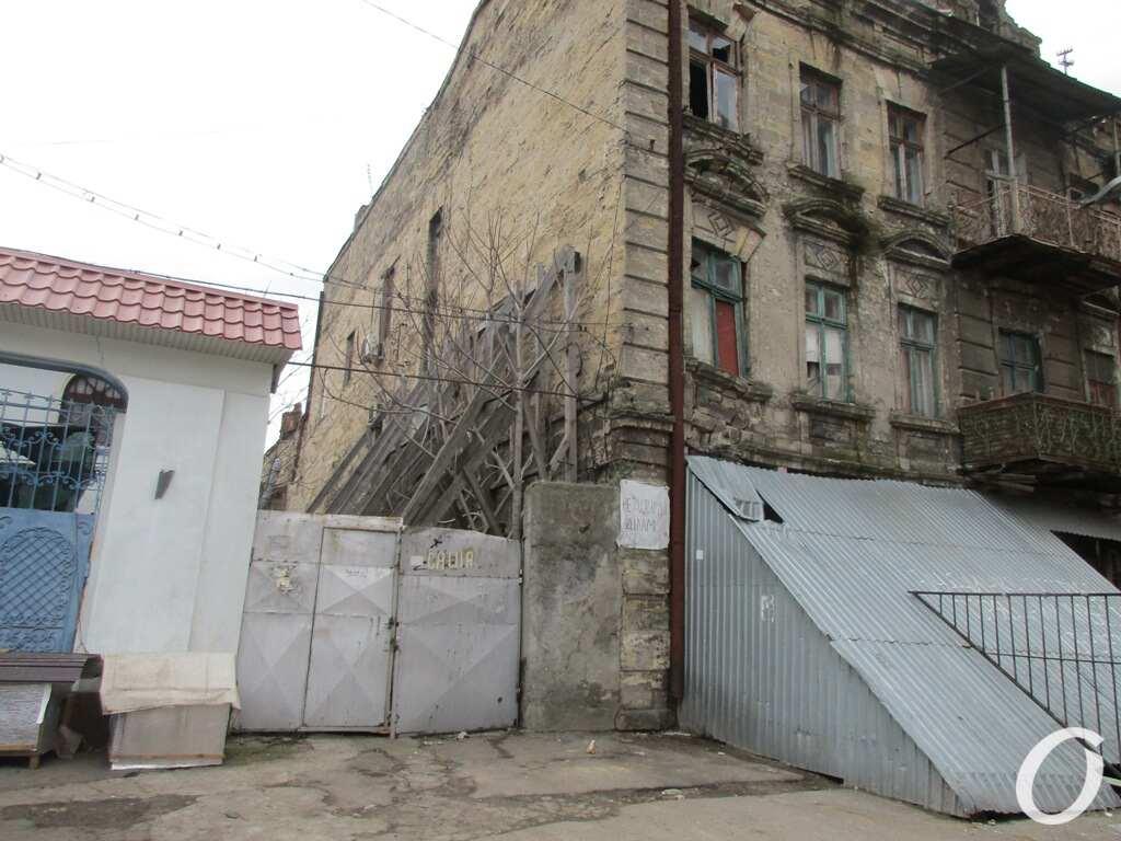 аварийный одесский дом, Книжный переулок