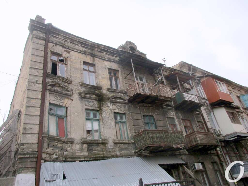 дом в одесском Книжном переулке