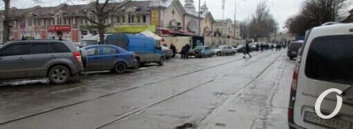В Одессе на Преображенской не будет выделенных трамвайных путей (фото)