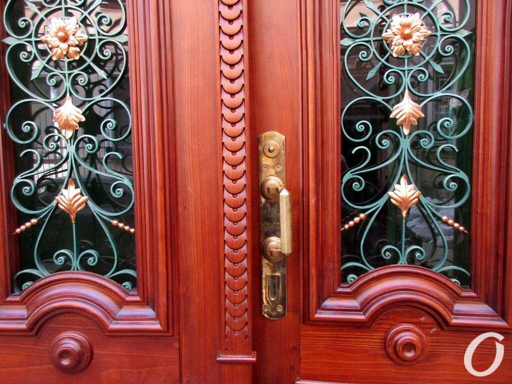 историческая дверь, реставрация