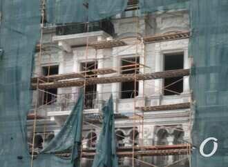 В мэрии Одессы назвали виновника обрушения чердака в доме Либмана