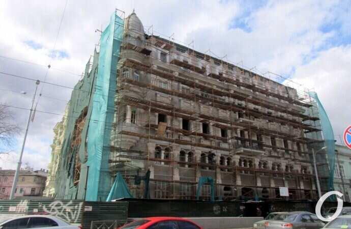 Дом Либмана в Одессе реставрируют к новому году
