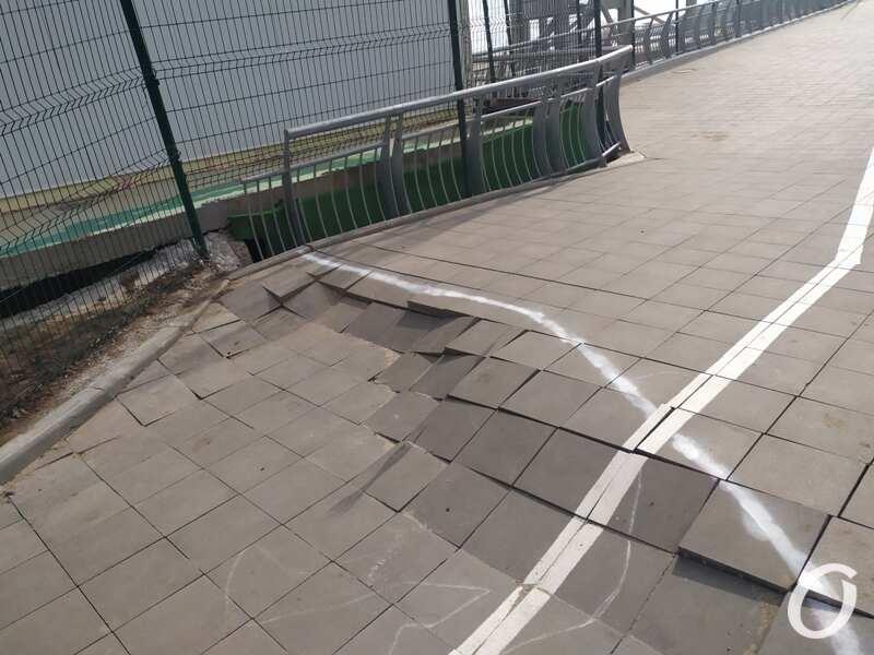 Одесская велоэстакада, плитка2