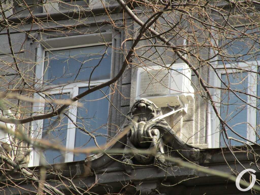 дом Гальперсона, окно