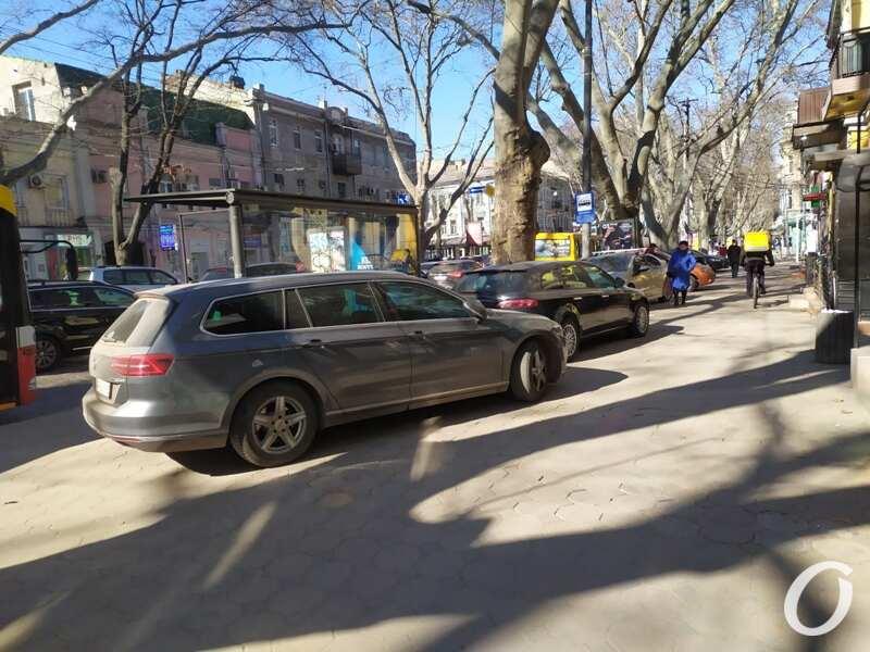 парковка, Пушкинская2