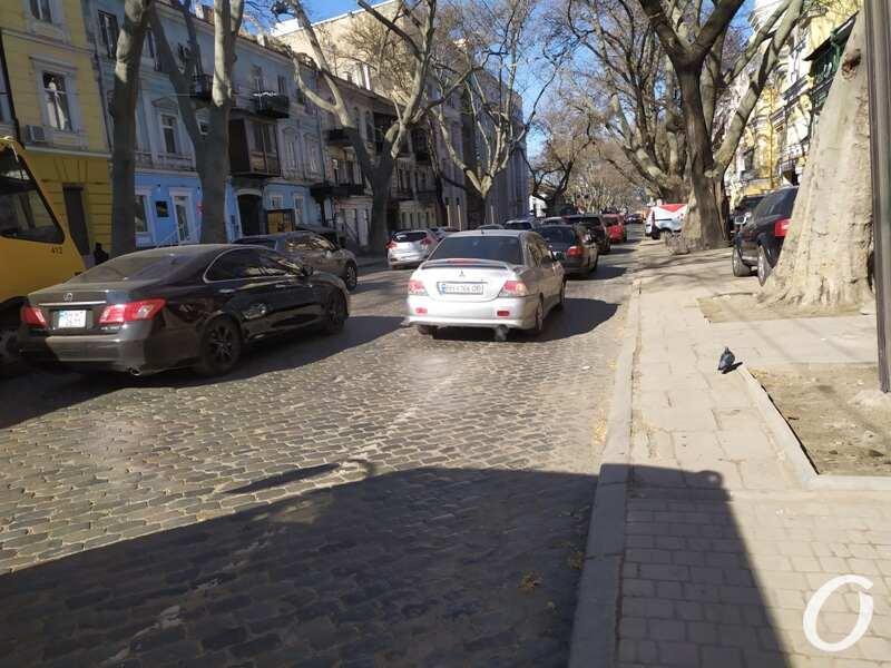парковка, Пушкинская5