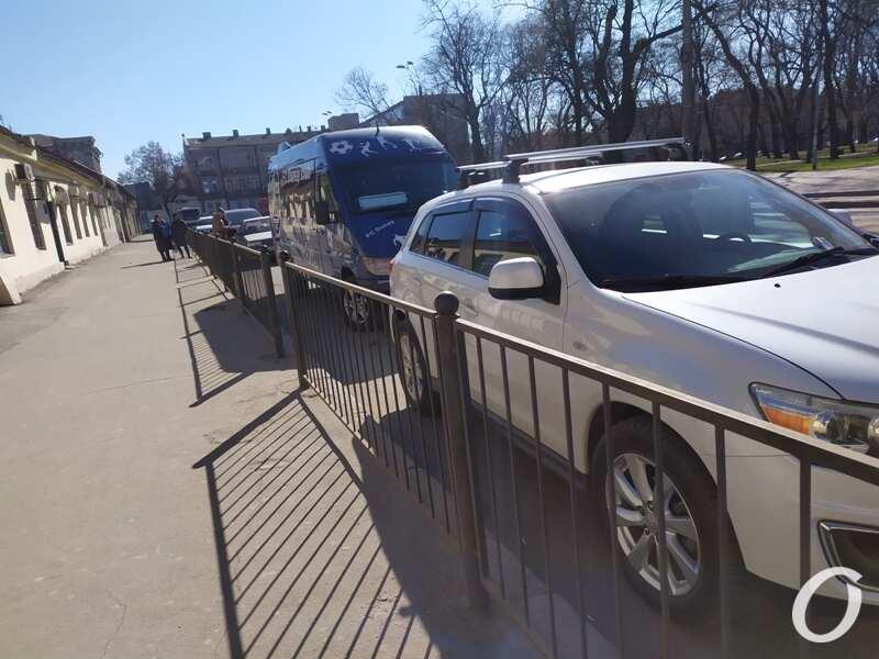 парковка, Старосенная1