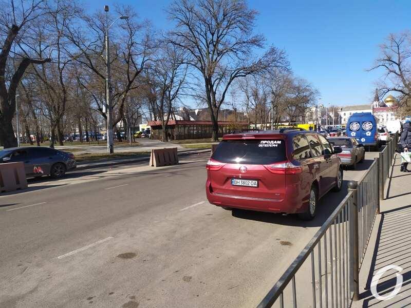 парковка, Старосенная2