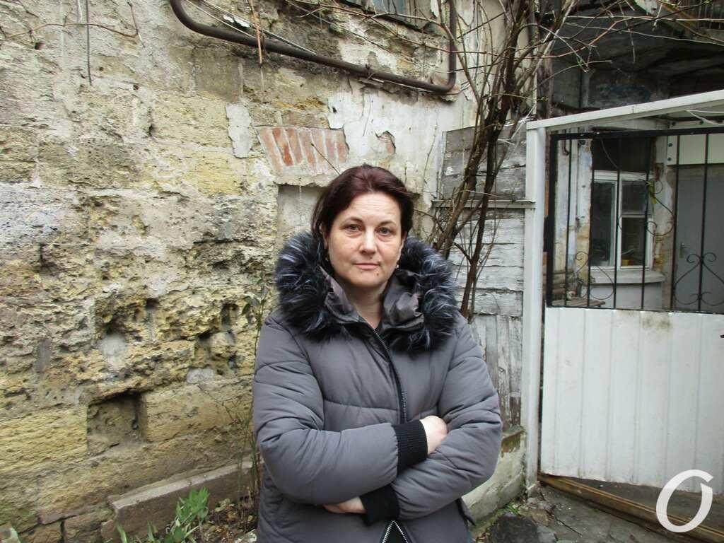 дом на Пищоновской, местная жительница