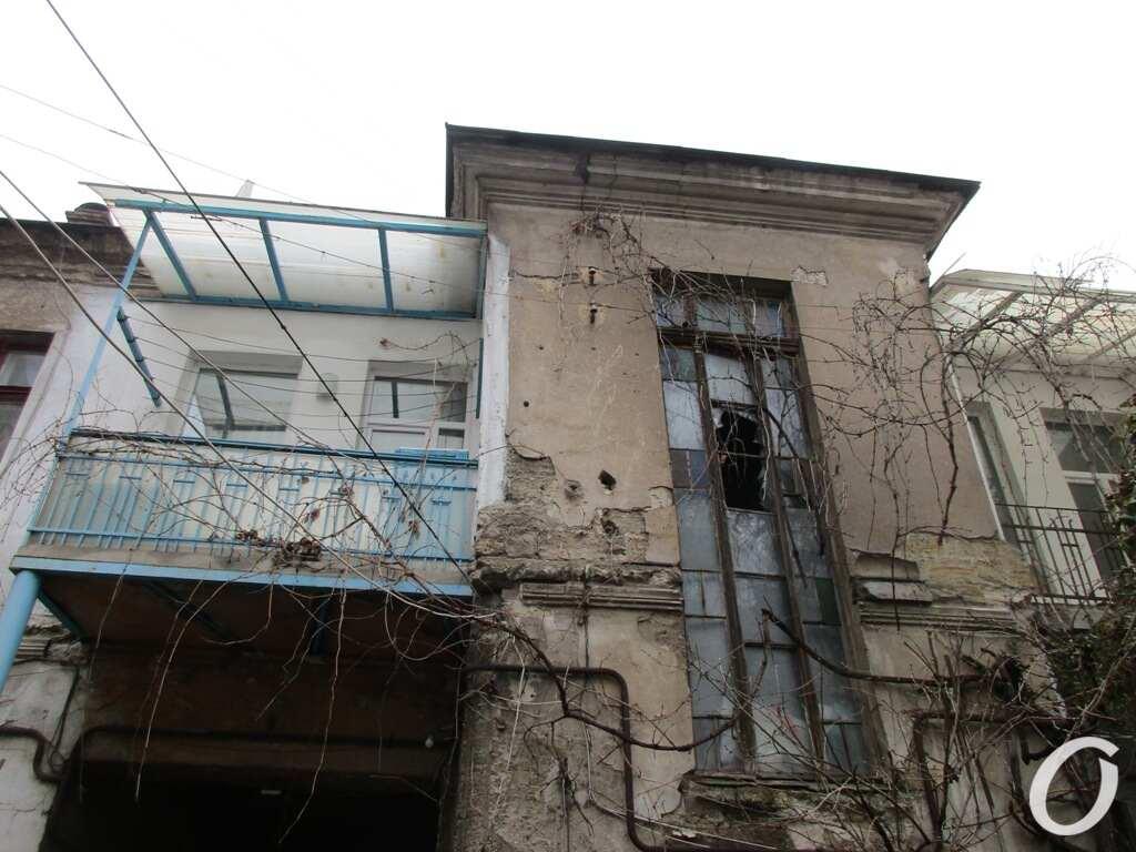 дом на Пищоновской, балкон