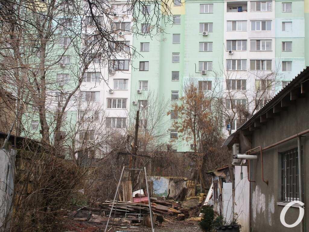 дом на Пищоновской, новострой