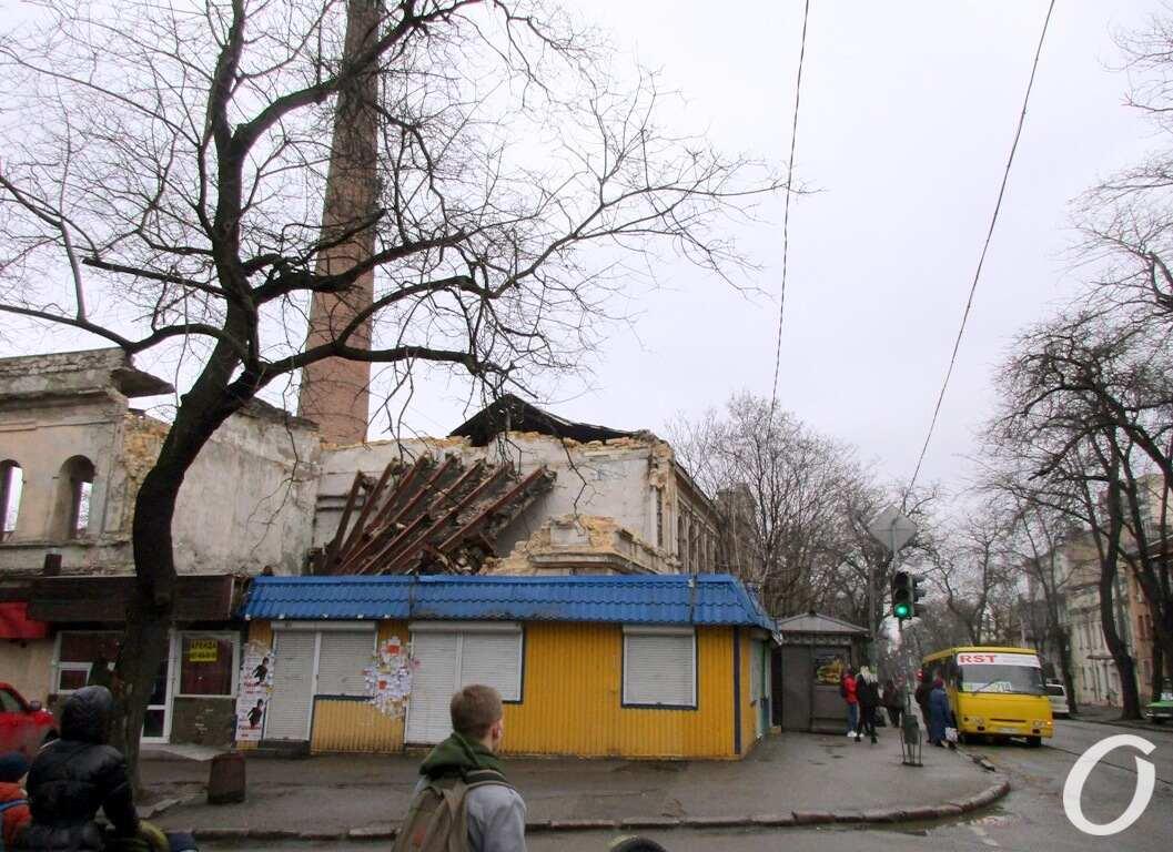 заброшенное здание в Одессе