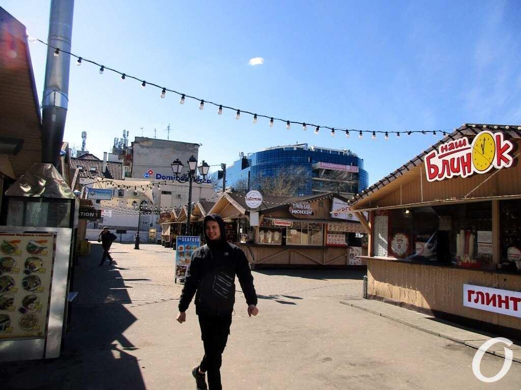 Новый локдаун в Одессе, ярмарка, блинок